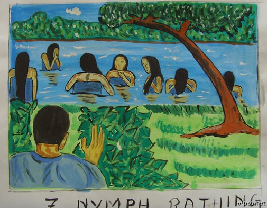 Heloi taret : Funga Wari - Prize winning entries in painting competition
