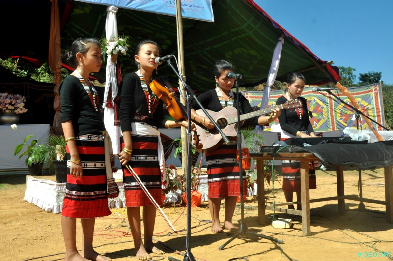 Chagah Festival : Annual festival of Liangmai community celebrated at Taphou Liangmai village, Senapati ::  Oct 30, 2012