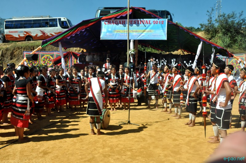 Annual festival of Liangmai community celebrated at Taphou Liangmai ...
