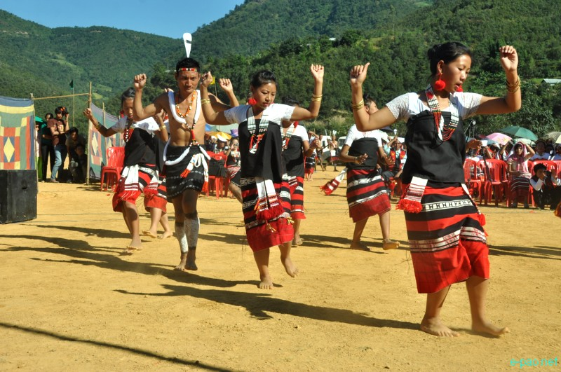 Chagah Festival : Annual festival of Liangmai community celebrated at Taphou Liangmai village, Senapati ::  Oct 30, 2012