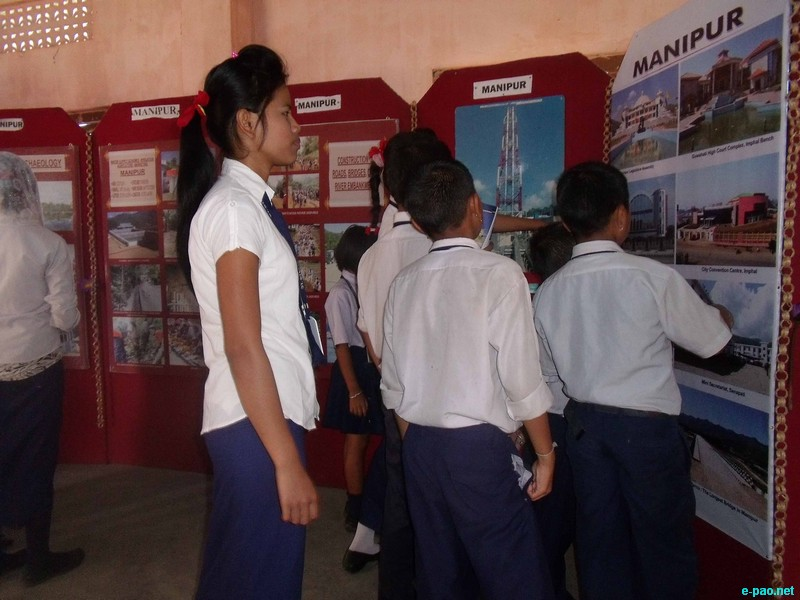 Photo exhibition on theme 'Development Initiatives in North East' at Mayang Imphal :: 25 July 2012