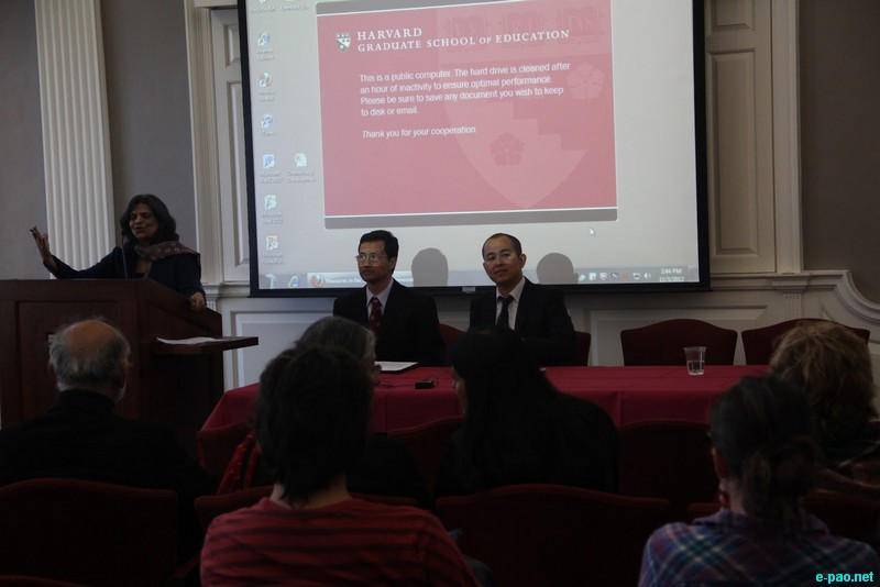 The forum at  at Harvard University on 3rd of November 2012