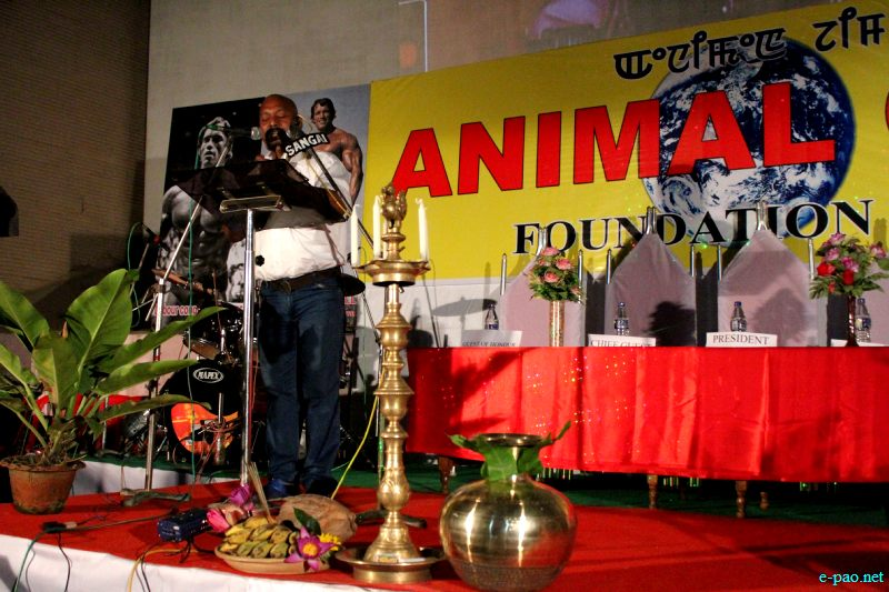 10th foundation day of Animal Gym, Khuyathong ar Shankar Talkies, Imphal ::  July 30 2012