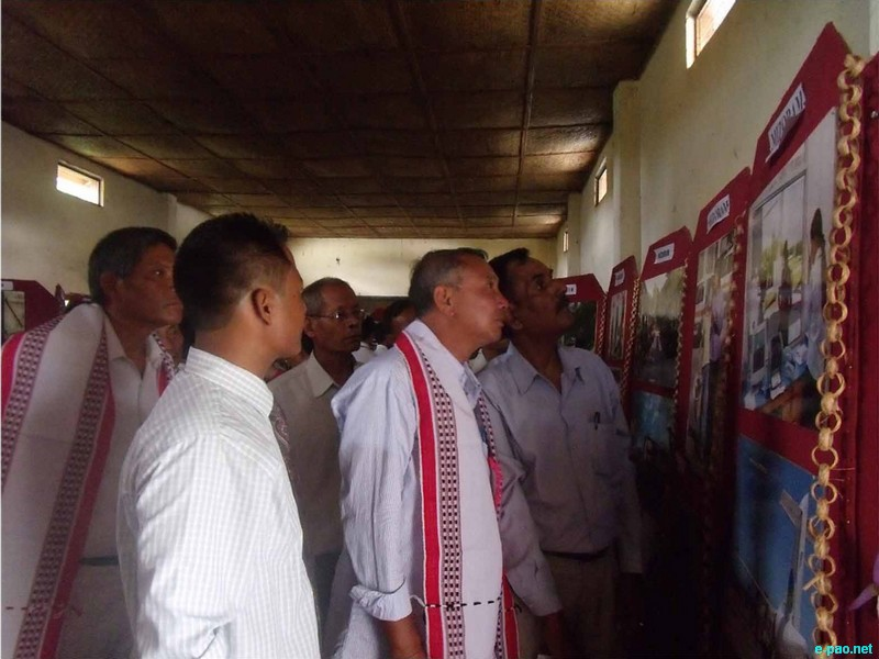 Photo exhibition on 'Development Initiatives in North East' at Wangoi Higher Secondary School :: 01 August 2012