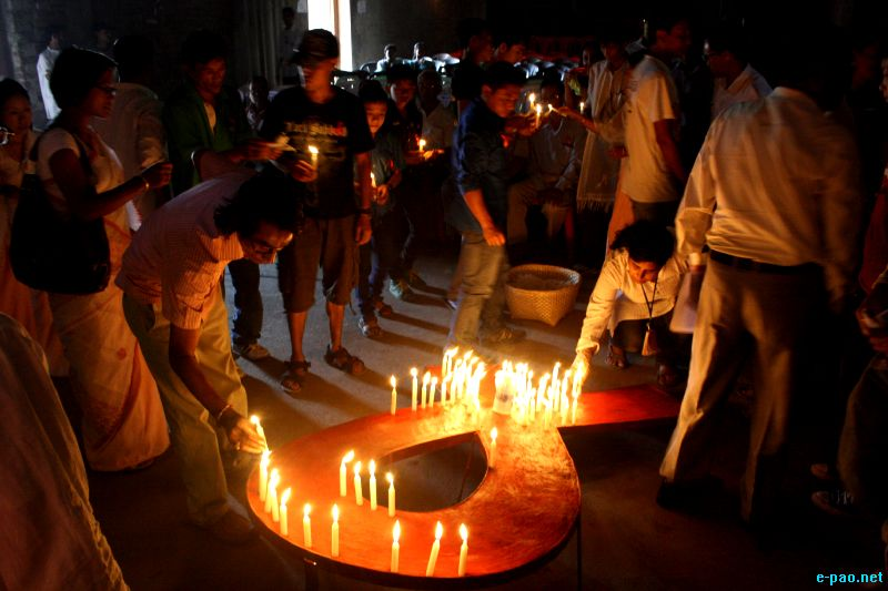 29th International AIDS Candlelight Memorial day by MNP+ at MDU hall, Imphal :: May 20 2012