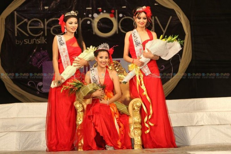 Ibethoi Thokchom at Mega Miss North East contest 2011 :: Guwahati, Assam