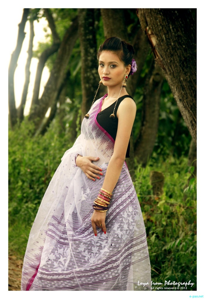 Traditional Meitei Dress :: Model - Rosia :: Photo Shoot - Loya Irom