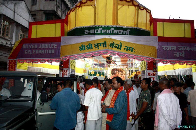 Durga Puja at Thangal Bazaar, Imphal :: October 23 2012