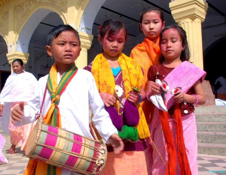Yaoshang festivities at Imphal on 10th March 2012