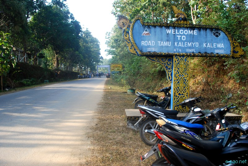 Moreh - Border Town between Manipur and Myanmar in December 2012