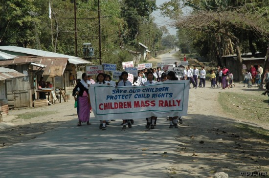 A Child Rights Rally