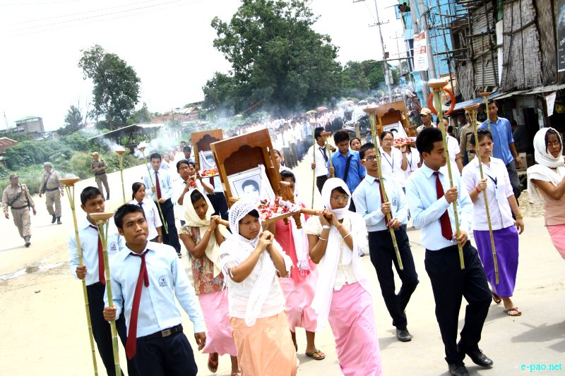 Hunger Marchers' Day Observation (Chaklam Khongchat) on 27th August 2012