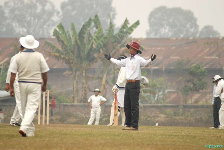 11th Manipur Veteran Cricket tournament  at Luwangshangbam Multi Purpose stadium on 11 January 2012