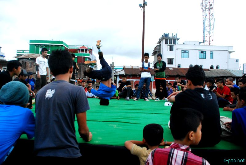 X Jam NE India tour 2012 (Extreme Sports) at Singjamei, Imphal