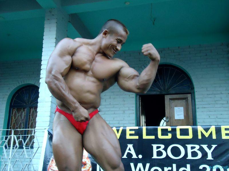 Profile of Arambam Boby -  Mr World 2011