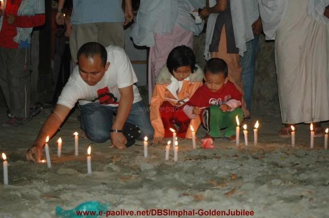 Global Candle Light Vigil for Dr Kishan :: 05 Apr 2009